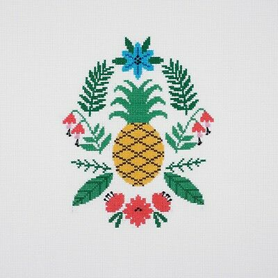 SALE ~ DMC ~ Counted Cross Stitch Kit ~ Pineapple ~ Ideal for Beginners  BK1782