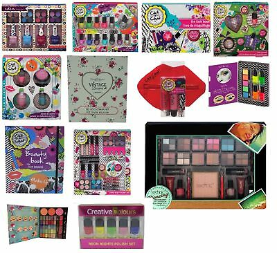 Technic Cosmetics Gift Set Eyes Nails Lips Face Make Up Kit Eyeshadow Lip Gloss