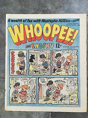 Vintage 1980 Children's Comic Whoopee And Cheeky