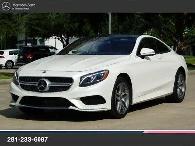 2017 Mercedes-Benz S-Class S550 COUPE, MBCPO 550 COUPE, MB CERTIFIED PREOWNED INSPECTION & WARRANTY, CLEAN!!!