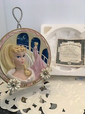 """Enchanted Evening"" Forever Glamorous Barbie 1994 Bradex Collector Plate"