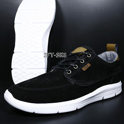 71e25df196 VANS BRIGATA LITE S l Black White Men s Skate Shoes    S89149.139 ...