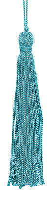 "Turquoise 4"" Chainette Tassels [Set of 10]"