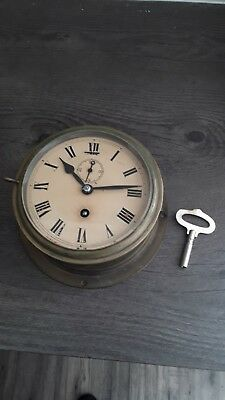 boat/yacht clock. Dates from the 1930s.