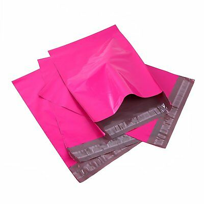 """100 10""""x13"""" Light Poly Mailer Shipping Mailing Packaging Pink Envelope Bags"""