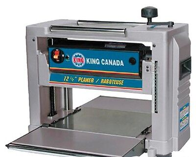"King Canada Tools KC-426C 12-1/2"" PORTABLE PLANER Raboteuse Portative 12"""