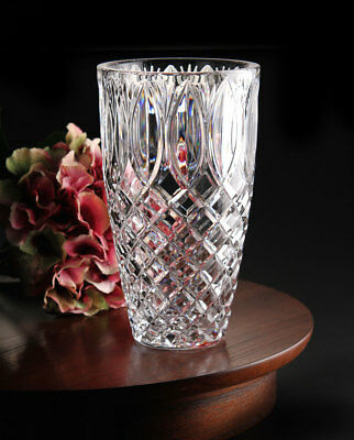 Waterford Crystal 40011235 Crystal Vase The Grant 10 Inch Brand New