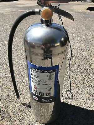 Used 2 1/2 Gallon Water Fire Extinguisher