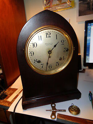 Antique-Seth Thomas-5 Bell Sonora Chime Mantle Clock-Ca. 1915-To Restore-#P499