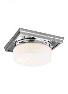Feiss Lighting FM514CH Mandie Flush Mount Light, Chrome