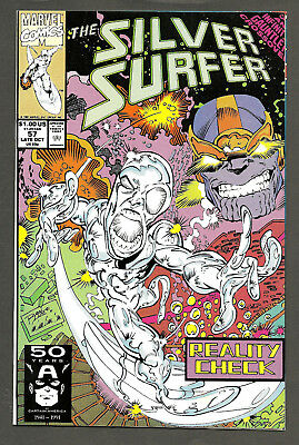 SILVER SURFER #57 (1987 Series) Infinity Gauntlet Crossover THANOS Ron Lim