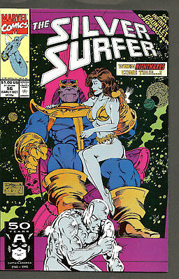 SILVER SURFER #56 (1987 Series) Infinity Gauntlet Crossover THANOS Ron Lim