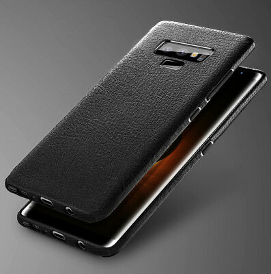 For Samsung Galaxy Note 9 New Luxury Ultra Slim Leather Skin Soft TPU Case Cover