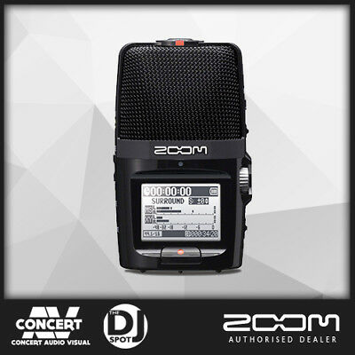 Zoom H2N Portable Stereo Field Recorder