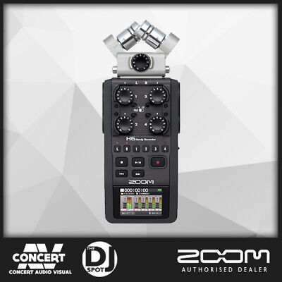 Zoom H6 Portable Field Recorder