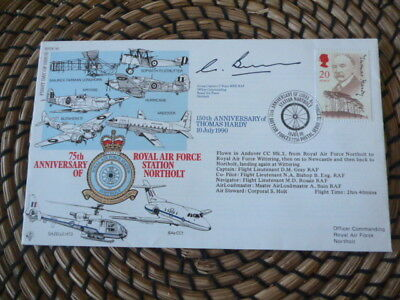 75th Anniversary of RAF Station Northolt   Signed   fdc