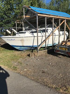 23ft Project boat-Sports cruiser-Powerboat