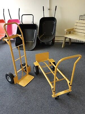 SINGLE HANDLED SACK TRUCK / CONVERTS TO TROLLEY 200kg (HT1842)