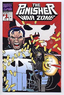 The Punisher: War Zone #1 1992 1st Printing NM NEVER READ - CGC worthy