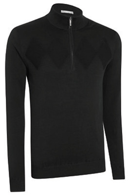 Ashworth Chest Diamond Texture Wind Sweater Windstopper Pullover UVP € 120,00