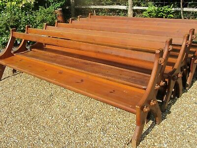 OLD PINE CHURCH PEW. Delivery possible. MORE BENCHES, PEWS & CHAIRS FOR SALE