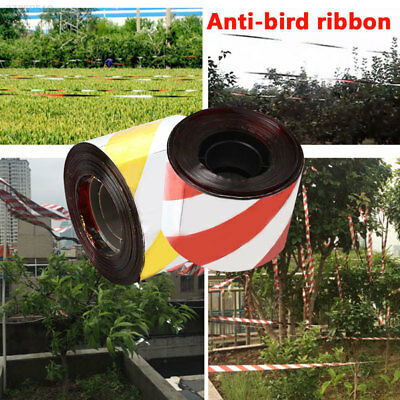 Realistic Creative Anti Bird Tape Bird Scare Tape Anti Bird Belt PET Outdoors