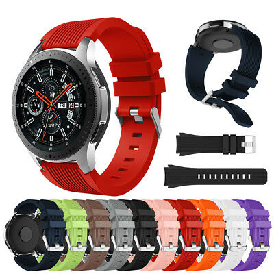 Silicone Wrist Strap Band Bracelet Replacement For Samsung Galaxy Watch 46mm New