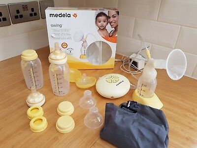Medela swing electric breast pump and Accessories