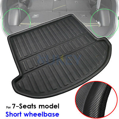 Boot Liner Trunk Cargo Mat For Hyundai Santa Fe 7 seater 2013-2018 Floor Tray