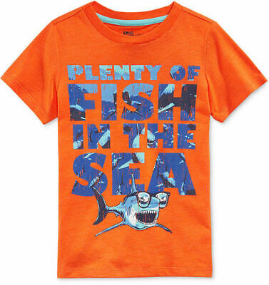 Epic Threads Little Boys' Plenty of Fish In The Sea T-Shirt, Size 4/4T