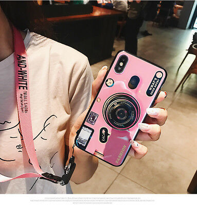 Retro Camera Shockproof Back Phone Case Cover For iPhone X 8 6S 7 Plus 5S SE XR