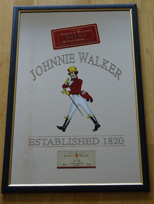 Johnnie Walker Spiegel - Red Label - ca. 44 x 64 cm