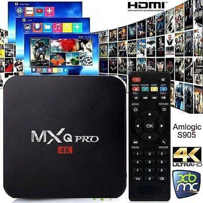 NEW MXQ PRO BOX ✔Quad-Core ✔Android 7.1 ✔SMART TV Box 4K - FAST DISPATCH! UK