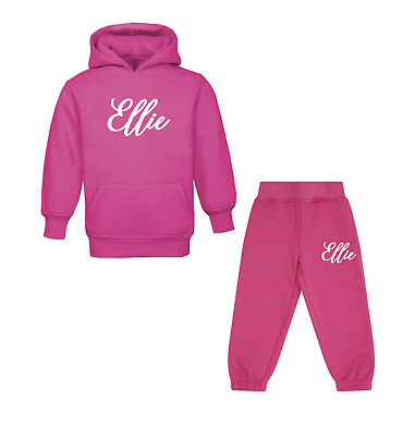Personalised Initial and Name Tracksuit Children's Tracksuit Sets Personalised