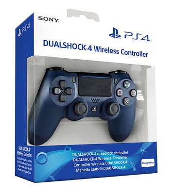Controller Ps4 Dualshock 4 Midnight Blue - Blu Notte - Playstation 4 V2 Nuovo