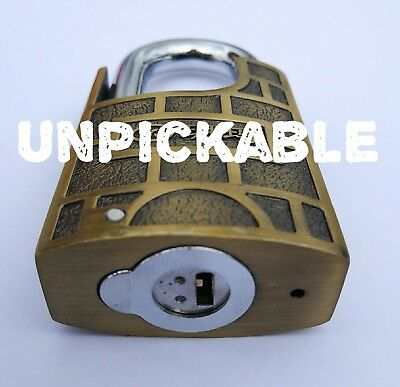 YUEMA 50mm Guarded Shrouded Padlock High Security Heavy Duty Garage Container