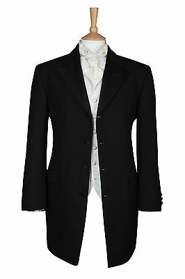 80% Off From Only £5 Page Boy Black 3/4 Length Prince Edward Boys Jacket