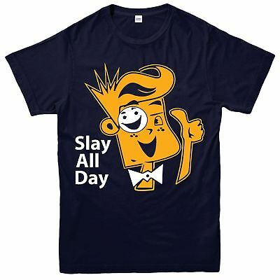 SLAY ALL DAY T-SHIRT Youtuber FUNnel Vision Top FGTeeV Children Kids Tee Top