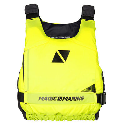Gilet De Flottabilité Ultime Magic Marine 2018 - Flash Yellow