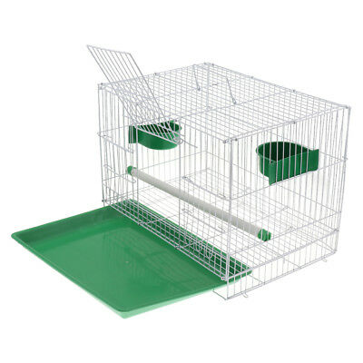 Baoblaze Bird Cage with Stand Stick & Bowls for Small Parrot Parakeet Conure