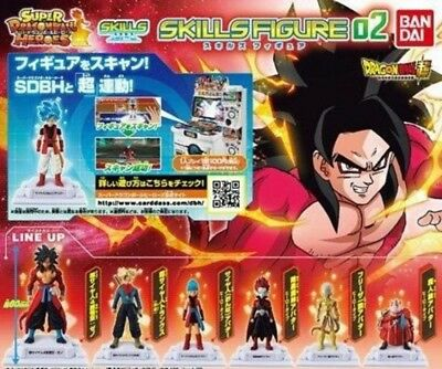 Dragon Ball Heroes Set Gashapon Skills 02 Bandai New