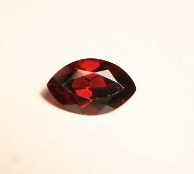 2.5ct Purple / Orange Malaya Garnet - Custom Marquise Cut - Large Clean Garnet