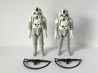 Vintage Star Wars Figures Stormtrooper ATAT Driver AT-AT Rifle