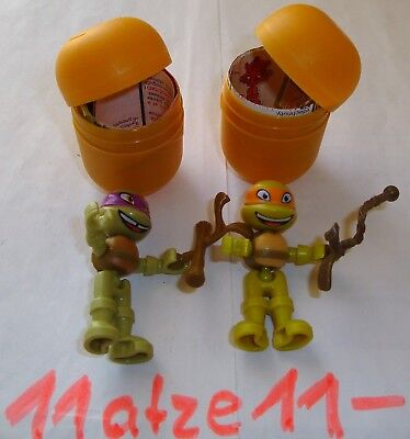 +++ ACHTUNG! - 2! Üei Figuren - Teenage Mutant Ninja Turtles +++