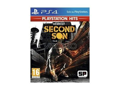 Infamous: Second Son Ps Hits Azione - Playstation 4