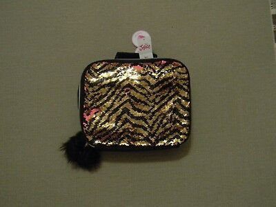 Nwt Justice Girls Tiger Flip Sequin Lunch Tote