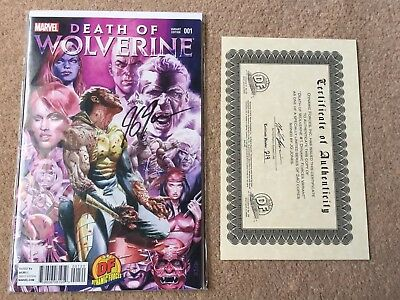 Death Of Wolverine #1 Dynamic Forces Exclusive Variant With COA VF/NM Marvel