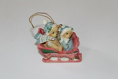 Cherished Teddies Dated 1994 Ornament~Our First Christmas Nwob