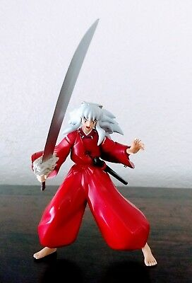 Inuyasha with Tetsusaiga Sword Open Mouth Variant Figure USED