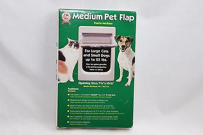 Ideal Products Pet Flap Door with Lock Up to 25 lbs.